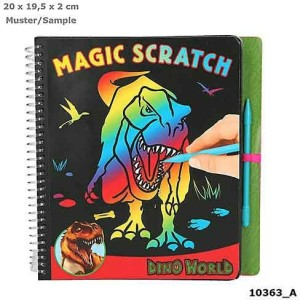 Волшебное царапание Dino World - 10363_A