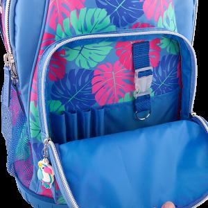 Рюкзак школьный на колесах Тропики, голубой TOPModel - 10422_A производства Depesche