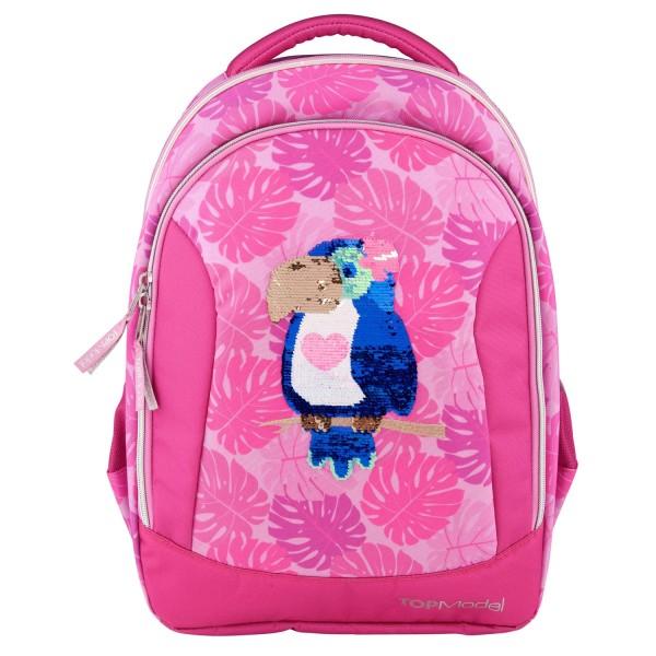 Рюкзак школьный Тропики, розовый TOPModel - 10448_A производства Depesche