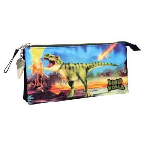 Пенал без наполнения Динозавр Dino World 10449_A