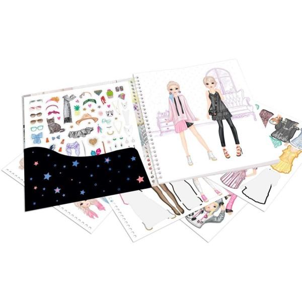 Альбом с наклейками Наряди Меня TOPModel 10452_A