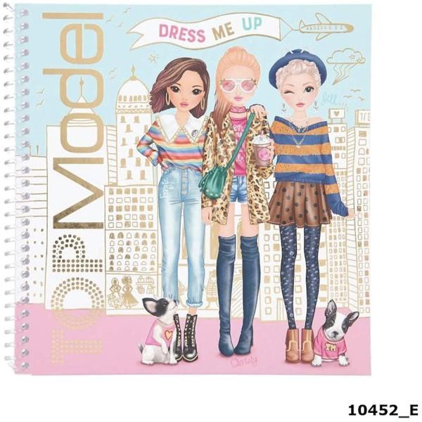 Альбом с наклейками TOPModel Наряди Меня - 10452_E