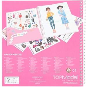 Альбом с наклейками TOPModel Наряди Меня - 10452_E производства Depesche