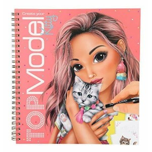 Альбом для раскрашивания Котята TOPModel - 10469_A