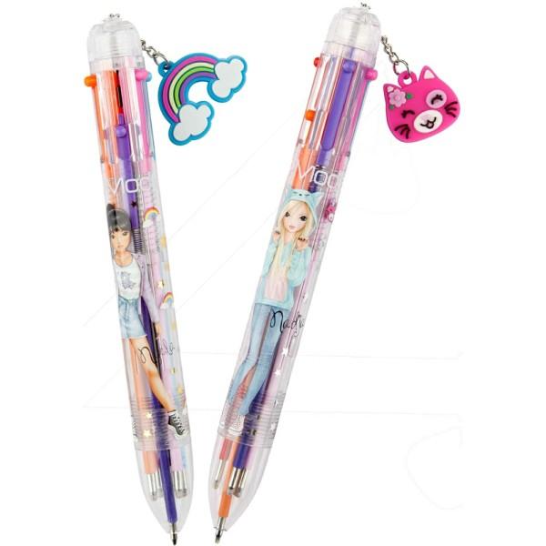 Ручка TOPModel с цветными стержнями  6 в 1 - 10560 производства Depesche