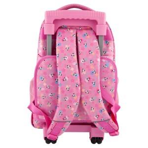 TOPModel Рюкзак школьный на колесах Панда, розовый - 10618 производства Depesche