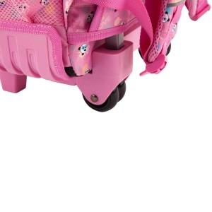 Рюкзак TOPModel школьный на колесах Панда, розовый - 10618 производства Depesche
