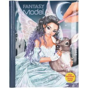 Альбом для раскрашивания TOPModel Fantasy с музыкой и подсветкой Ледяная принцесса - 10727