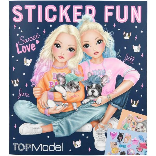 Альбом с наклейками TOPModel DOG - 10740 производства Depesche