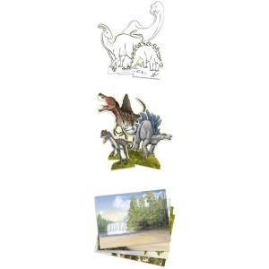 Альбом для игр Dino World Динозавры - 10742_А производства Depesche