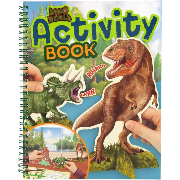 Альбом для игр Dino World Динозавры - 0410742