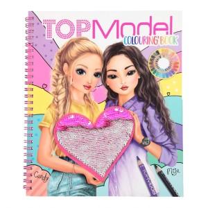 Альбом для раскрашивания TOPModel с пайетками - 10744 производства Depesche