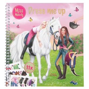"Альбом для творчества Miss Melody ""наряди меня"" - 10749"