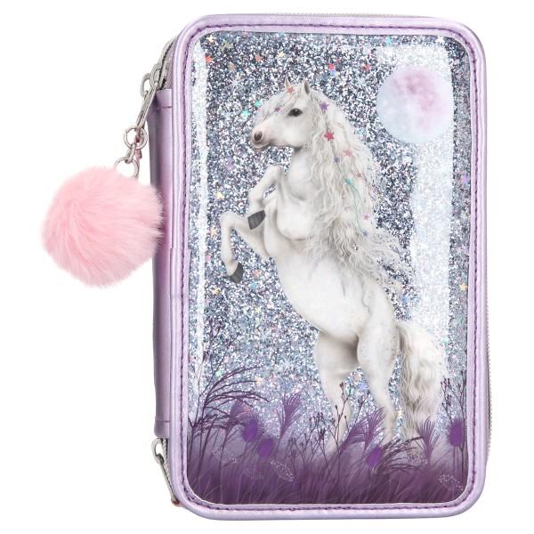 Пенал с наполнением Блестки, фиолетовый Miss Melody - 10770 производства Depesche