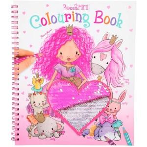 Альбом для раскрашивания с пайетками Princess Mimi - 10839 производства Depesche