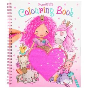 Альбом для раскрашивания с пайетками Princess Mimi - 10839