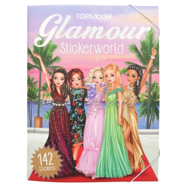 TOPModel Альбом с наклейками Гламур - 10845