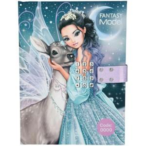 Дневник TOPModel Fantasy с кодом и музыкой Ледяная принцесса - 10867 производства Depesche