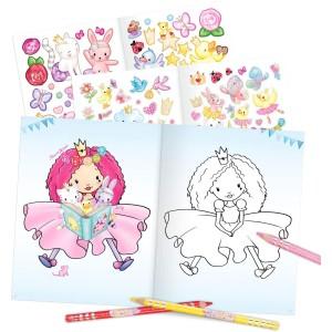 Альбом Princess Mimi для раскрашивания с наклейками - 0410870 производства Depesche