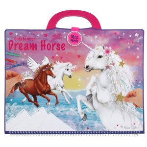 Альбом для раскрашивания Лошадь мечты Miss Melody - 10898