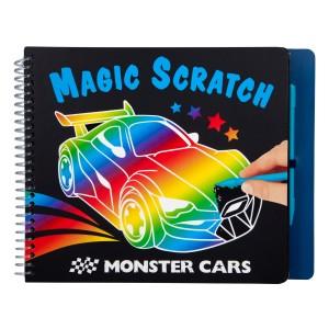 Monster Cars Альбом для творчества Волшебное царапание - 10928