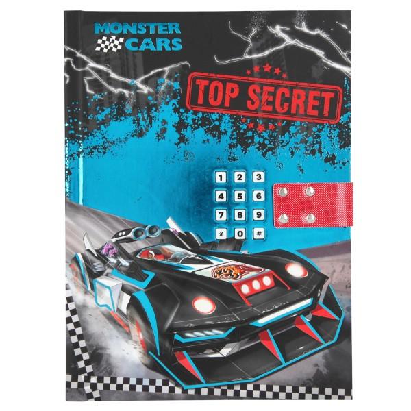 Дневник с кодом и музыкой Monster Cars - 10949
