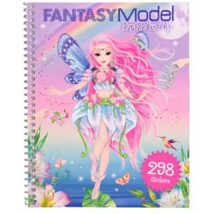 Альбом для творчества с наклейками TOPModel Fantasy - Наряди меня - 10955