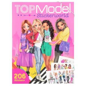 Альбом TOPModel  с наклейками Мир ТОП-моделей - 10958