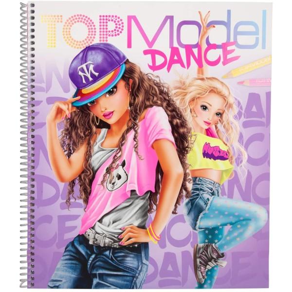 Альбом TOPModel для раскрашивания Танцы - 0410959 производства Depesche