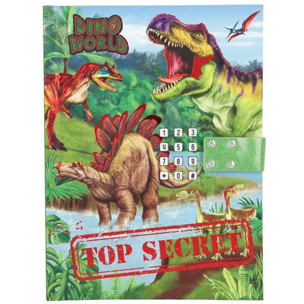 Дневник с кодом и музыкой Dino World - 10972