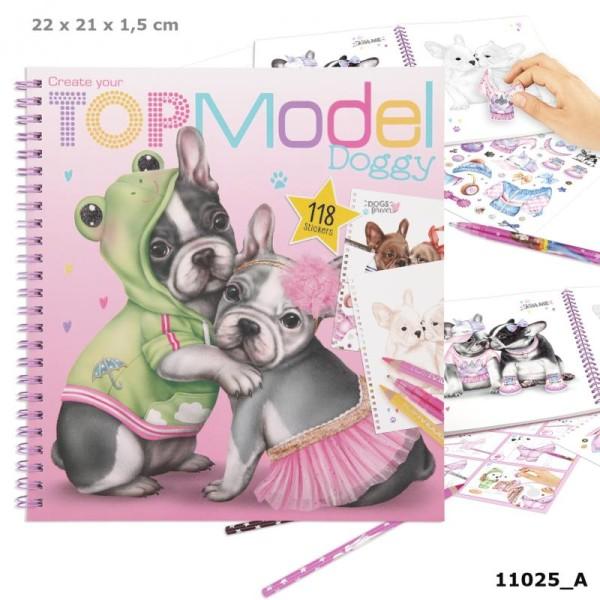 Альбом TOPModel для раскрашивания Собачки - 0411025/0011025 производства Depesche