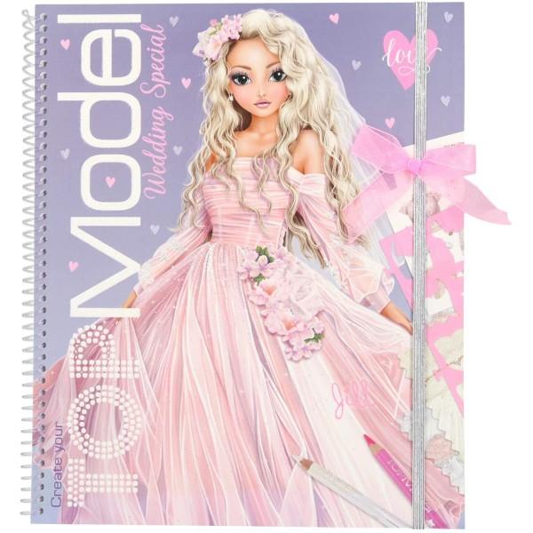 Альбом TOPModel для раскрашивания Свадьба - 0411064/0011064 производства Depesche