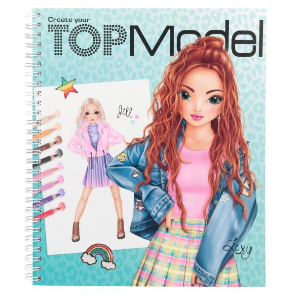Альбом для раскрашивания TOPModel Моя ТОПМодель - 11065