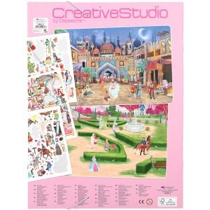 Альбом с наклейками Creative Studio Создай Сказочный мир - 11066 производства Depesche