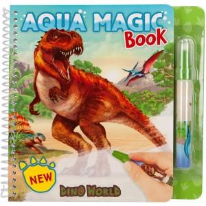 Альбом Dino World для творчества Аква Магия - 0411080/0011080 производства Depesche