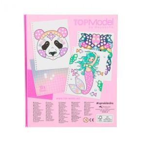 Альбом TOPModel Fantasy для творчества Рисунок из наклеек - 0411122/0011122 производства Depesche