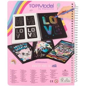 Альбом TOPModel для творчества Скретчинг - 0411129/0011129 производства Depesche