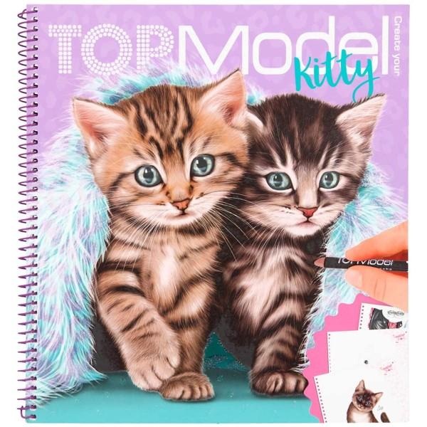 Альбом TOPModel для раскрашивания Котята - 0411133/0011133