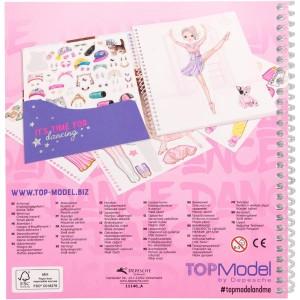 Альбом TOPModel с наклейками Наряди Меня Танцы - 0411140/0011140 производства Depesche