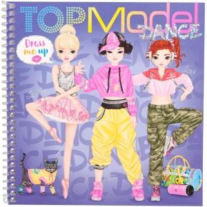 Альбом TOPModel с наклейками Наряди Меня Танцы - 0411140/0011140