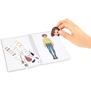Альбом TOPModel для творчества Наряди Модель, мини - 0411152/0011152 производства Depesche