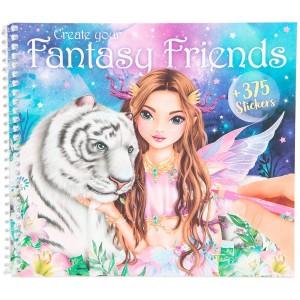 Альбом TOPModel Fantasy для раскрашивания Фантазийный друг - 0411164 производства Depesche
