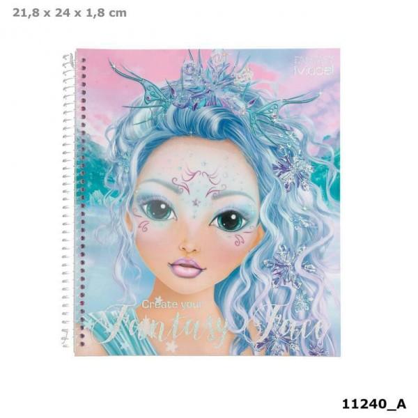 Альбом TOPModel Fantasy для раскрашивания Макияж - 0411240_A производства Depesche