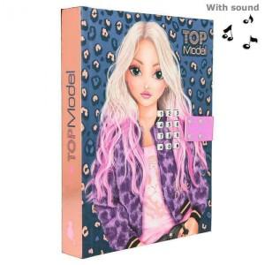 Дневник TOPModel с кодом и музыкой LEO LOVE - 0411327 производства Depesche