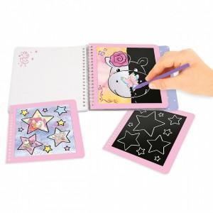 Альбом Princess Mimi для творчества Скретчинг, мини - 0411413/0011413 производства Depesche