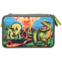 Пенал Dino World с наполнением, LED - 11460_А