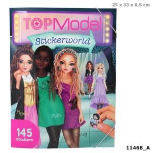 Альбом TOPModel с наклейками Stickerworld - 11468_A производства Depesche