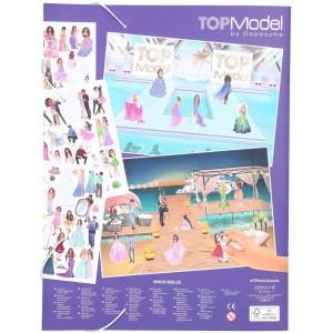Альбом TOPModel с наклейками Glamour - 11469_A производства Depesche