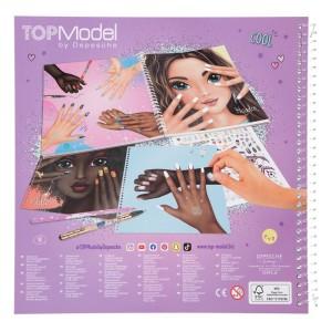 Альбом TOPModel для раскрашивания Маникюр - 11471_A производства Depesche