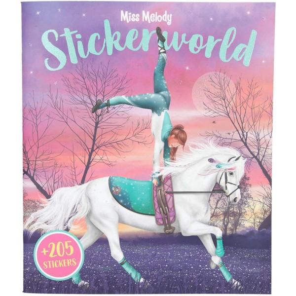 Альбом Miss Melody с наклейками Stickerworld - 11499_A производства Depesche